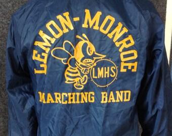 Vintage Lemon-Monroe High School band jacket USA small