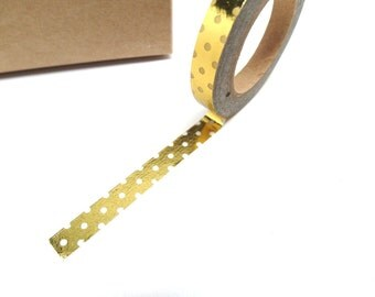 Polka Dot Washi Tape Slim Washi Tape