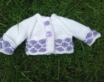 "Gorgeous cardigan for Waldorf Doll 16"" - 18"""
