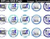 Buy One get FOUR FREE Syringomyelia Syringo 1 Inch Bottlecap  Images 4X6 Sheet