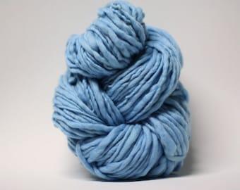 Thick and Thin Yarn Merino Slub Yarn TTS tts(tm) 33tts4X16001 Blue
