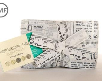 Modern Background Paper Fat Eighth Bundle, Brigitte Heitland, Zen Chic, Moda Fabrics, Precuts, 1580F8