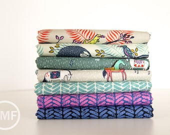 Honeymoon Half Yard Bundle, 7 Pieces, Sarah Watts, Cotton+Steel, RJR Fabrics, 100% Cotton Fabric
