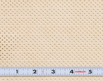 SALE 50% OFF - Ultrasuede ST. Perforated - Sand