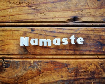 Namaste - Vintage Ceramic Push Pins