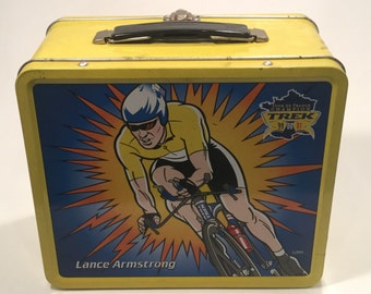 Lance Armstrong Lunchbox
