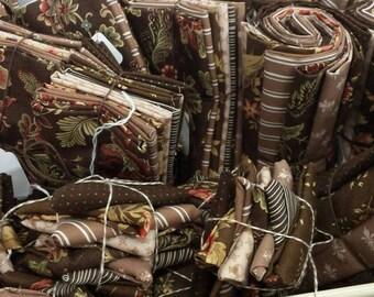 double chocolate, exclusive color bundles, moda fabrics