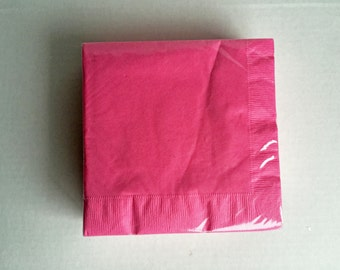 Pink Napkins: Pink Party Supplies