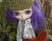 Blythe Mori Rabbit Coat, Pants & Blouse (BD17016)