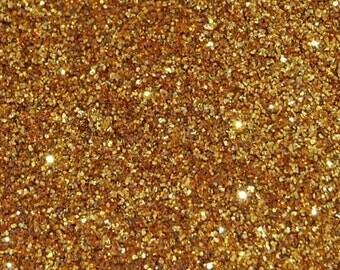 Gold Sparkle Fine Glitter 0.015 Hex - 1 Fl. Ounce for Glitter Nail Art & Glitter Crafts