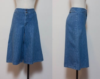 1970's Denim Gauchos by Maverick