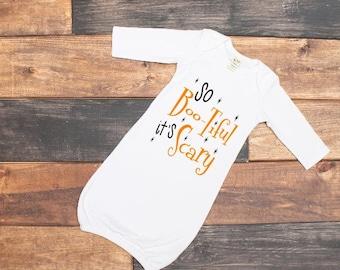 Toddler girls halloween shirt - cute baby clothes - Halloween clothes for toddler - baby gown - baby shirt - little girls clothing