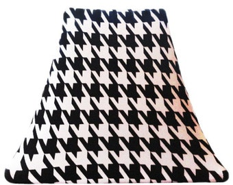 Houndstooth - SLIP COVERS for lampshades