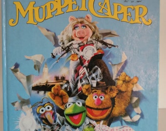The Great Muppet Caper Movie Storybook, 1981