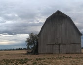 Weathered Old Barn Picture Greeting Card