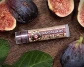 Lip Tint Herbal MANDARIN FIG Natural with Alkanet and Pink Clay - Mica Free - .15oz