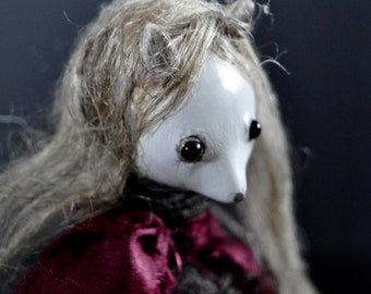 OOAK Art Doll - Polly Glot