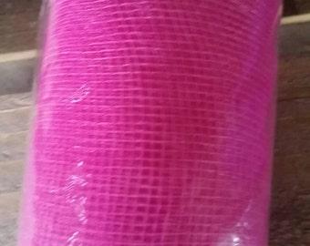 Decorative mesh 10 yards Bright Pink