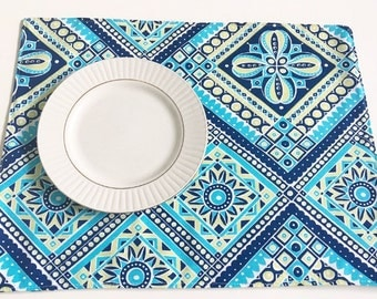 Set of 4 Table Placemats,Indoor Outdoor Placemats