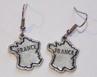 Vive la France Earrings