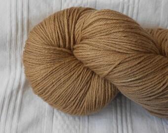 Cafe Au Lait sock yarn