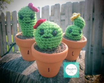 Crochet Cactus Party Favor Gift
