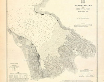 Commencement Bay – 1888
