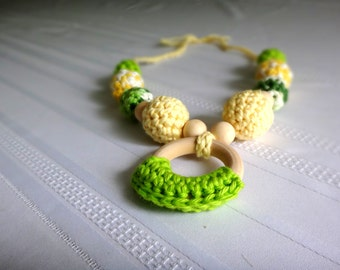 Breastfeeding/Teething Necklace