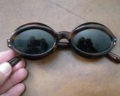 Vintage Liberty USA Winsum Sunglasses Eyewear Old Stock Retro Hipster Geek