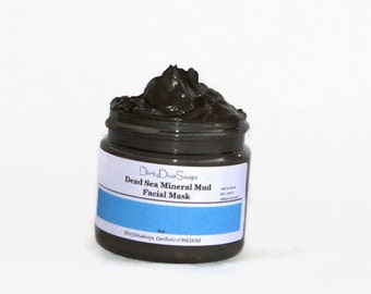 Dead Sea Mineral Mud Face Mask ,, Detox Mask, Mineral Mask, Spa