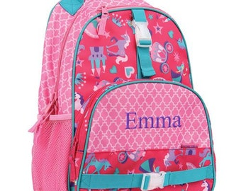 Personalized Princess Backpack Back To School Book Bag