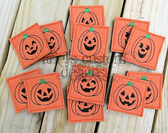 Pumpkin Memory Matching Game - Thanksgiving Fall Halloween - Soft Felt - Preschool Children