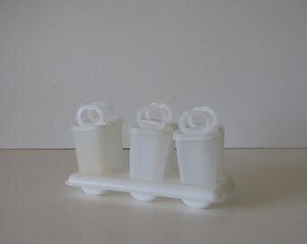 Vintage Tupperware - Popsicle Mold / Popsicle Tray