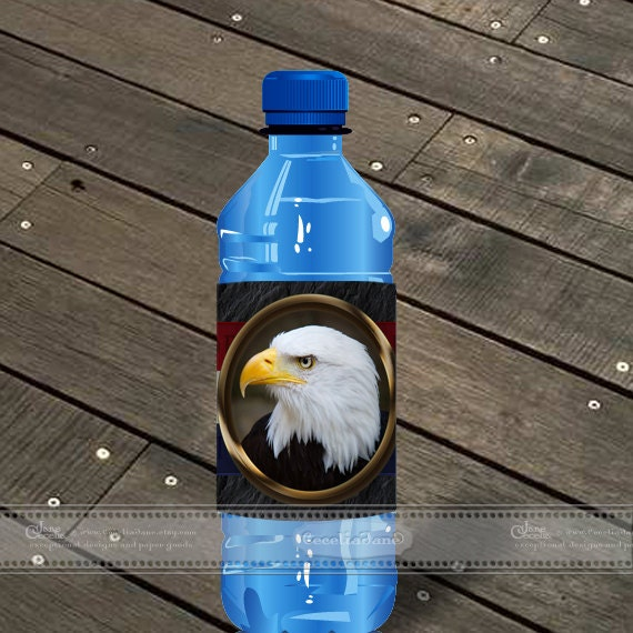instant download Eagle Scout water bottle wrappers, BSA water bottle wrappers, Eagle Scout Court of Honor refreshments, ID133