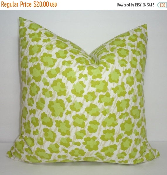 Ornate Animal Pillow Cover Giveaway : FALL SALE Decorative Animal Print Pillow Cover by HomeLiving