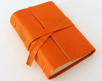 Orange Leather Journal