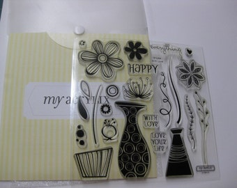 Acrylic Stamp Set - Close to My Heart #D1284 - With Love