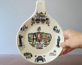 "Vintage Scandinavian Modern Stavangerflint ""Bergen"" Dish / Bowl"