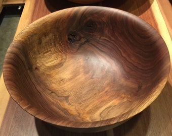 13.25 x 6.5 Large Spalted Walnut With Figure