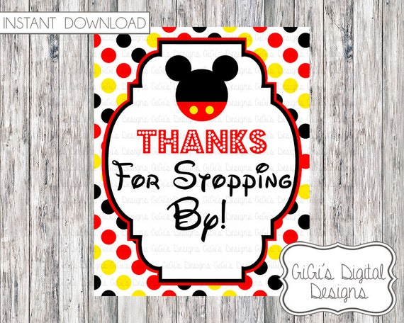 Mickey Mouse Invitations Printable is good invitation layout