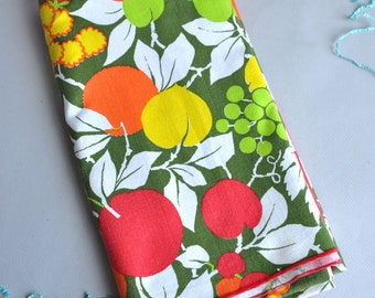 Bright Mod Fruit Tablecloth