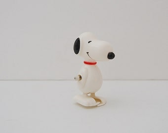 Vintage Snoopy Wind-up Toy, 60's Aviva Snoopy