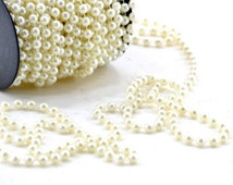 Pearls on String White