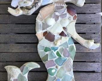 Chesapeake Sea Glass Mosaics By Maysprout On Etsy