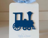 CUSTOM ORDER for Nancy 15 Train Invitations