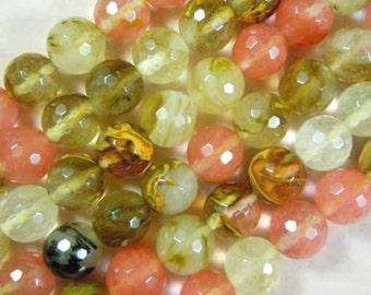 33 VOLCANO QUARTZ Gemstone Beads 12mm - COD5418