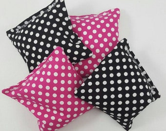 Minnie Mouse Party Game - Minnie Mouse Party Favor - Birthday Party - Your Choice of 4 Prints - Diva Party Games - Pink Polka Dot  & Zebra