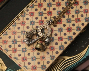 The Game is Afoot, Sherlock Charm Necklace