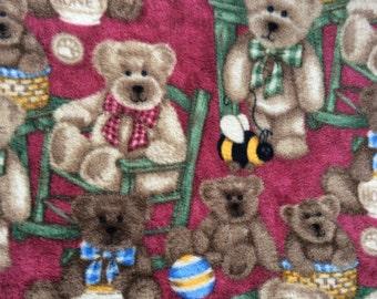 Boyd's Bears Fleece Blanket New