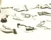 Symbolic Gesture - Japanese Washi Masking Tape - 20mm wide - 7.6 Yards